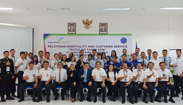 Foto Berita Tingkatkan Layanan, AP I Balikpapan Gelar Pelatihan Hospitality and Customer Service