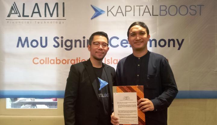Foto Berita Alami dan Kapital Boost Bersinergi Tumbuhkan Fintech Syariah di Indonesia