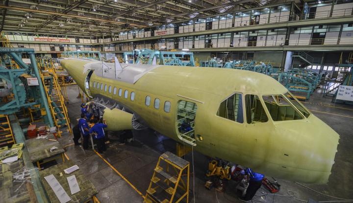 Foto Berita Kemenperin: Industri Perawatan Pesawat Tumbuh 9 Persen