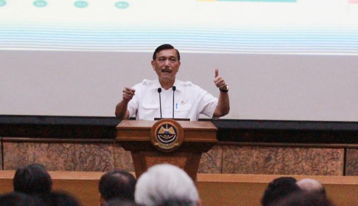 Menteri Luhut Sosialisasikan Poros Maritim pada Mahasiswa - Warta Ekonomi