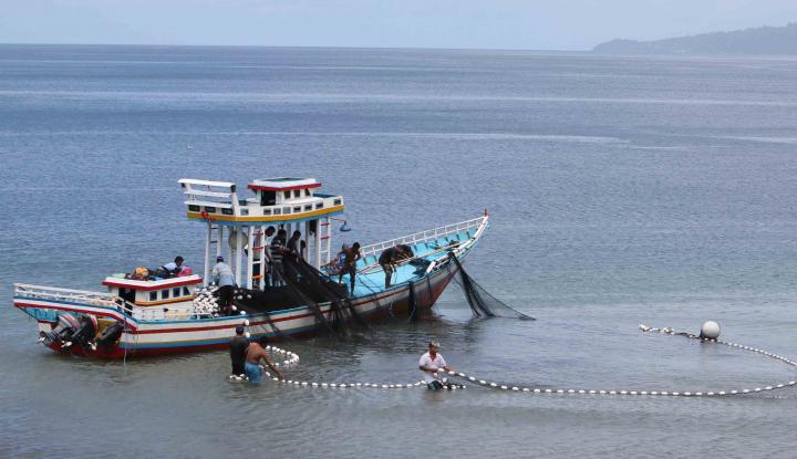 Foto Berita Banyak Nelayan Tak Tahu Batas Perairan Indonesia-Malaysia