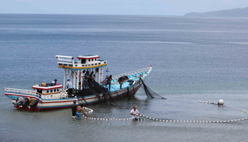 Foto Menteri Susi Janji Bangun Perikanan Papua