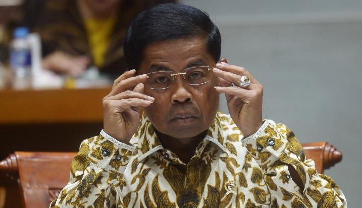 Foto Berita Dipanggil KPK, Idrus Marham Dicecar 20 Pertanyaan