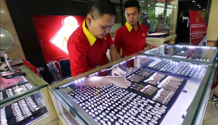 Foto Berita Transaksi Emas di Ambon Sepi