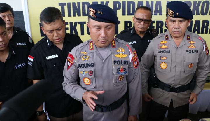 Foto Berita Polda Jabar Tangkap Sindikat Penyelundup Narkoba