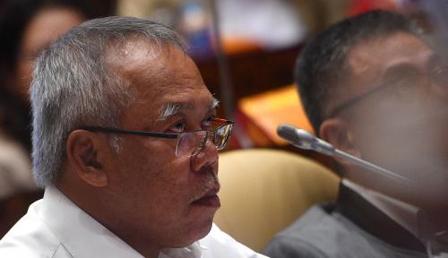 Foto Menteri Basuki Pelopori Pembayaran SPT Melalui E-filling