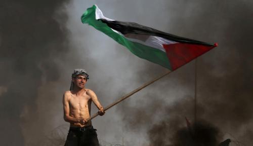 Foto Total 104 Orang Tewas dan 12.000 Lainnya Terluka dalam Bentrokan di Gaza