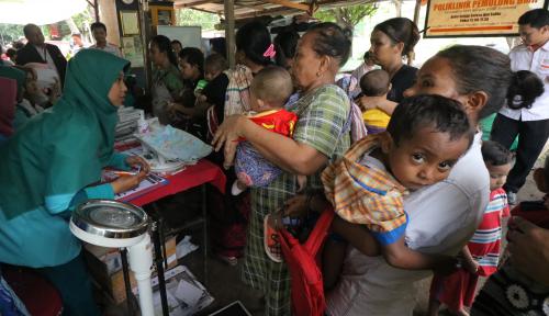 Foto Jokowi Mimta Pemkab Asmat Serius Perhatikan Gizi Anak