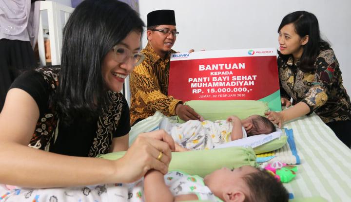 Foto Berita Pelindo I Bantu Panti Asuhan Muhammadiyah Medan Denai