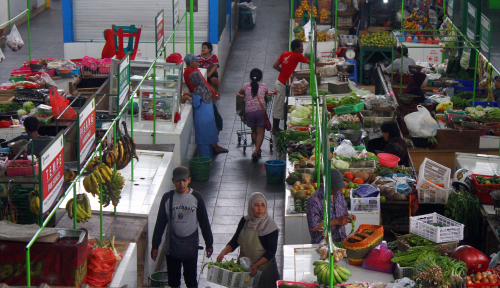 Foto Mukomuko Terima Hibah Bangunan Pasar Semimodern