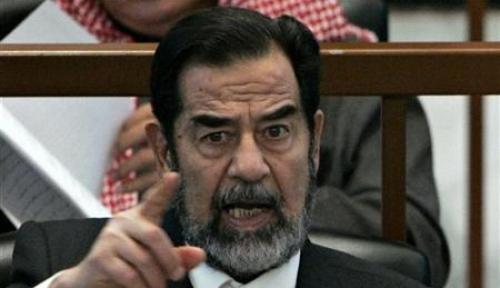 Foto Anak Tertua Saddam Husein Masuk Daftar Orang Paling Dicari
