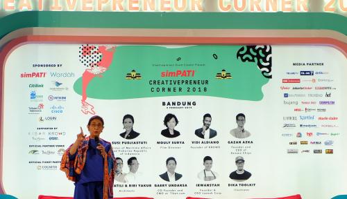 Foto Menteri Susi Ajak Generasi Muda Jadi Pengusaha