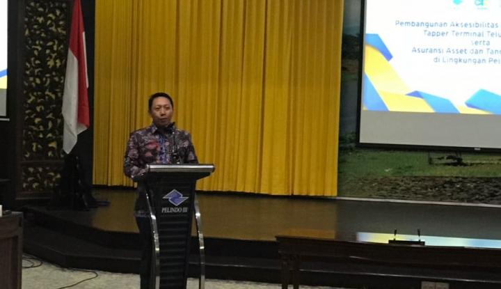 Foto Berita Perkuat Sinergi BUMN, Askrindo Jamin Aset Pelindo III Rp12,2 Triliun