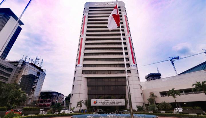 Foto Berita Wika Gedung Bakal Renovasi Gedung Kementerian BUMN