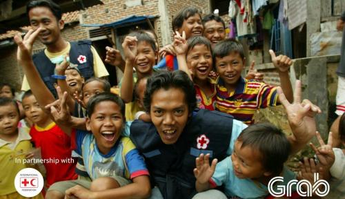 Foto Grab Gandeng IFRC Ajak Masyarakat Berdonasi untuk Korban Bencana Alam