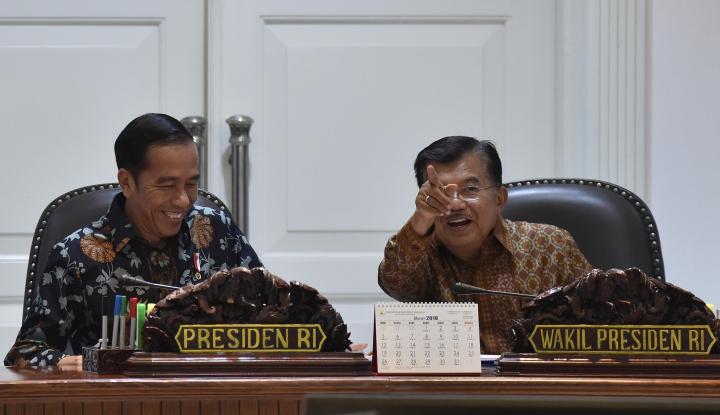 Foto Berita Dua Kriteria Ini yang Bisa Dampingi Jokowi di Pilpres Versi JK