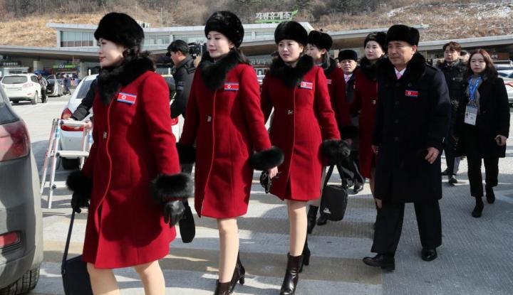 Foto Berita Parade Militer Korut Tak Seperti Biasanya: Tak Ada Pawai Gagah-gagahan