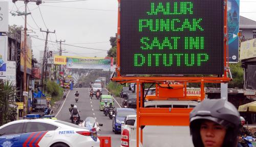Foto Liburan ke Puncak, Awas Jangan Lewat Jalan Tembus