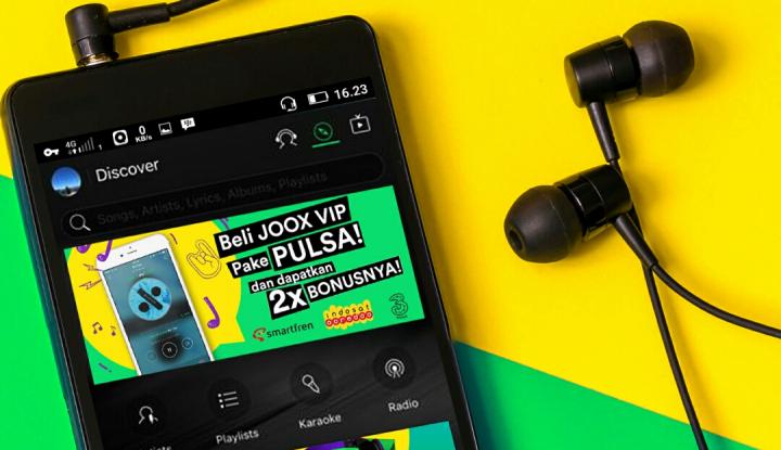 Foto Berita JOOX VIP Kini Dapat Diakses Melalui Pulsa Handphone