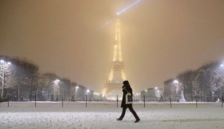 Foto Berita Badai Salju Juga Bisa Mendisrupsi Prancis