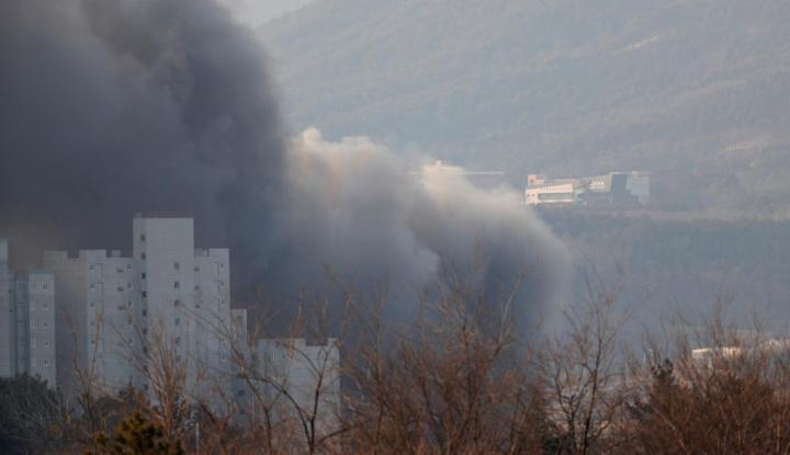 Ratusan Warga Korsel Gelar Aksi Perdamaian Korea di Kedubes AS - Warta Ekonomi