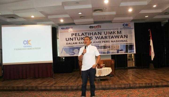 Foto Berita Ikut Meriahkan HPN 2018, Askrindo Gelar Pelatihan UMKM untuk Wartawan