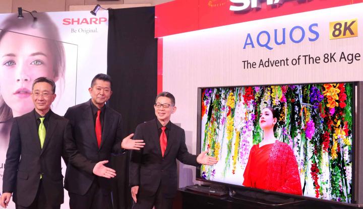 Foto Berita Sharp Incar Market Leader TV, Ini Strateginya
