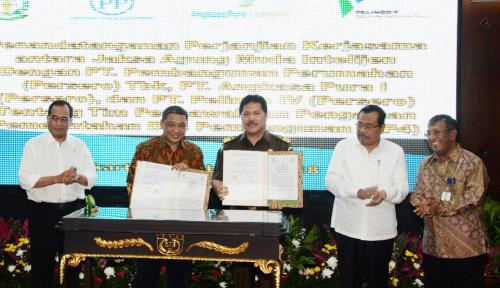 Foto Pelindo IV dan Kejagung Kerja Sama untuk Pembangunan