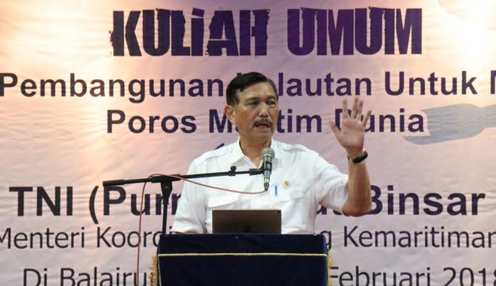 Foto Berita Luhut: KEK Bantu Pertumbuhan Ekonomi Sumatera Barat