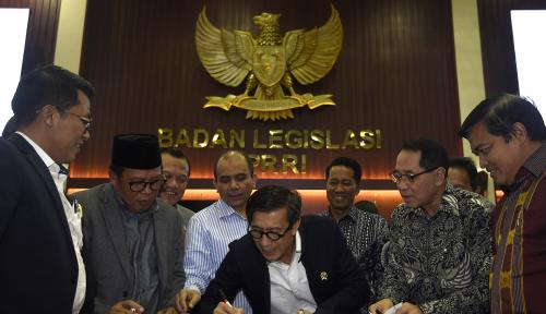 Foto DPR-Pemerintah Sepakati Poin Revisi UU MD3