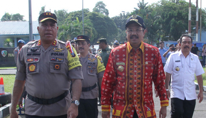 Foto Berita Polda Sumut Ajak TNI Amankan Pilkada 2018