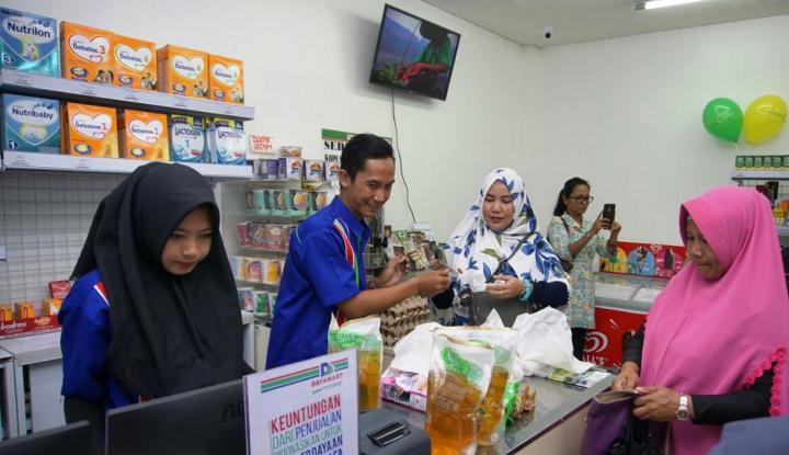 Foto Berita Daya Mart Zona Madina, Pemberdayaan UMKM Berbasis Kawasan