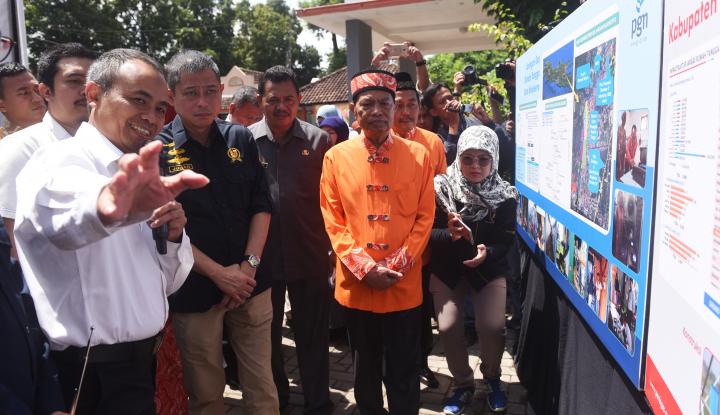 Foto Berita ESDM Tetapkan Harga Jargas Rumah Tangga Kota Mojokerto Rp4.250/m3
