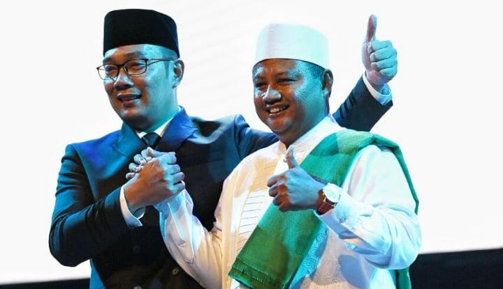 Foto Berita Dapat Nomor Urut Satu, Ridwan Kamil: Sesuai Doa Saya