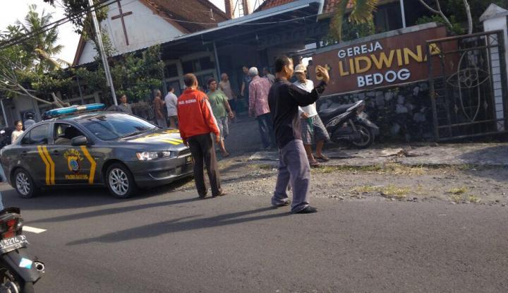 Foto Berita Pelaku Penyerang Gereja Tertembak, Tapi Tidak Meninggal