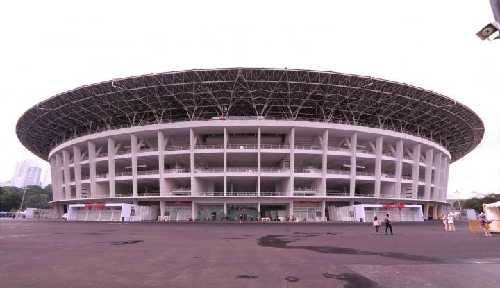 Foto Berita Demi Opening Asian Games, Polri Pasang 300 CCTV di GBK
