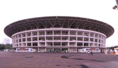 Foto Ratusan Satpol PP Siap Jaga GBK Selama Asian Games