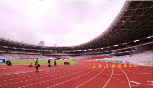 Foto Melihat Stadion Asian Games Lewat Google Maps