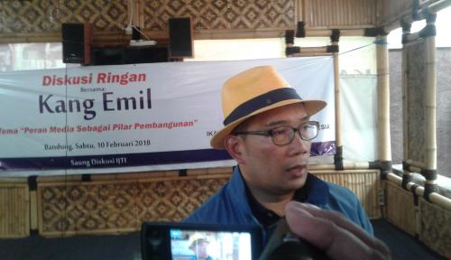 Foto Kang Emil Ajak Jurnalis Jadi Agen Perubahan