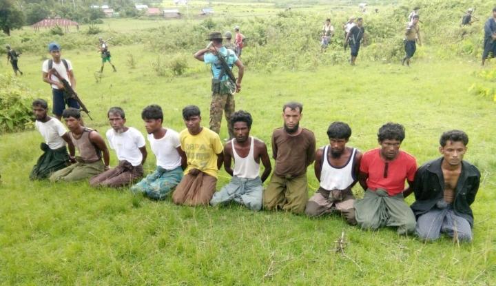 Foto Berita Tujuh Tentara Myanmar Dihukum 10 Tahun Penjara Atas Pembantaian Rohingya