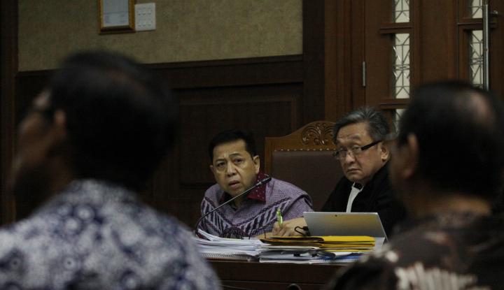 Foto Berita Ajukan Uji Materi, MK: Setnov Tak Punya Kedudukan Hukum