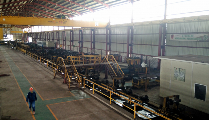 Foto Berita Benahi Sektor Logistik, Krakatau Steel Efisiensi US$10 Juta