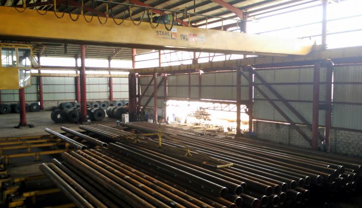 Foto Berita Krakatau Steel Target Produksi Baja hingga 10 Juta Ton