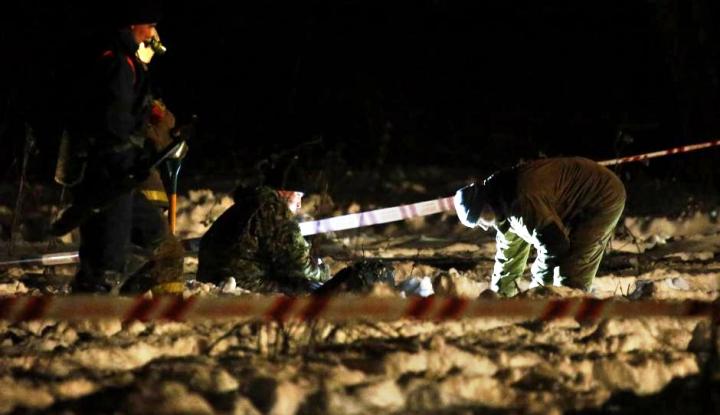 Foto Berita Pesawat Penumpang Jatuh di Moskow, 71 Orang Tewas