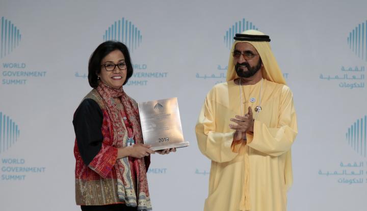 Foto Berita Sri Mulyani Diganjar Menteri Terbaik di Dunia