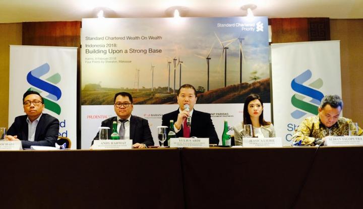 Foto Berita Standard Chartered Optimistis Ekonomi Indonesia Terus Membaik