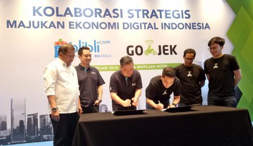 Foto GDN Investasi di Go-Jek, Akselerasi Pertumbuhan Ekonomi Digital