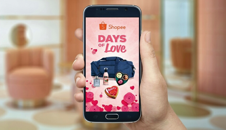 Foto Berita Shopee: Jelang Valentine Tren Belanja Cokelat Meningkat 70 Persen