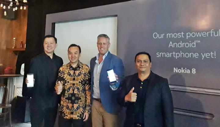 Foto Berita Nokia 8 Siap Sasar Generasi Milenial Indonesia, Berapa Harganya?