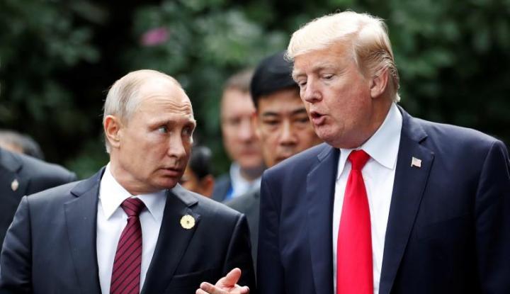 Foto Berita Putin Ancam Trump Harus Sejalan dengan Rusia